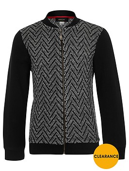 river-island-boys-black-zigzag-knit-bomber-jacket