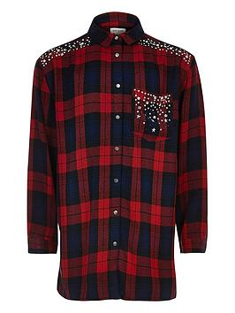 river-island-girls-red-check-embellished-shirt