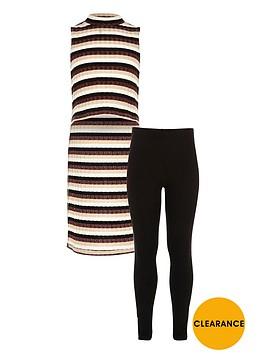river-island-girls-stripe-tunic-and-leggings-set