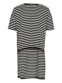 river-island-girls-black-stripe-high-low-hem-t-shirt