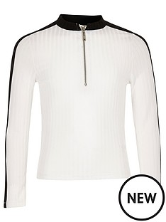 river-island-girls-white-ribbed-zip-top