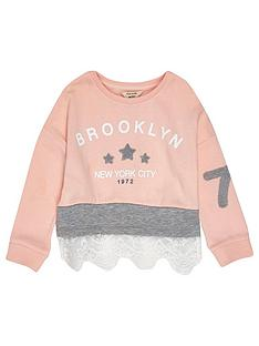 river-island-mini-mini-girls-pink-lace-sweatshirt