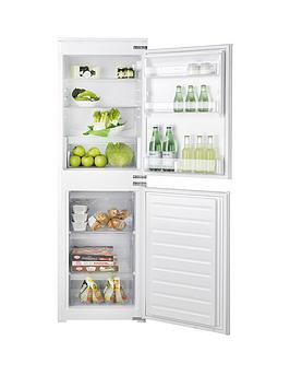 Hotpoint Hmcb5050Aa 55Cm BuiltIn Auto Defrost Fridge Freezer  White