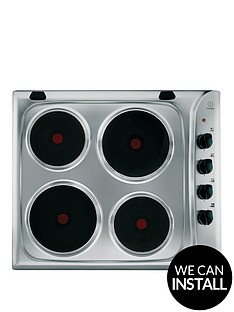 indesit-pim604ixgb-60cm-built-in-electric-hob-with-optional-installation-stainless-steel