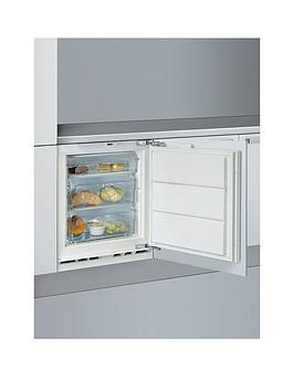 Indesit Iza1 55Cm BuiltIn Under Counter Freezer   Freezer Only