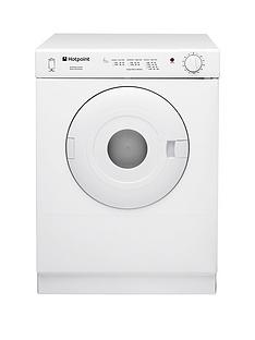 hotpoint-v4d01p-4kg-vented-tumble-dryer-white