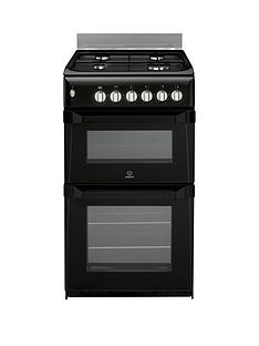 indesit-itl50gk-50cm-twin-cavity-gas-cooker