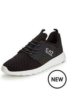 emporio-armani-ea7-ea7-new-racer-mesh-trainer-black