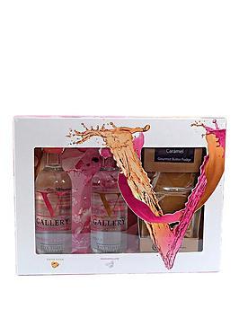 V Gallery Vodka &Amp Fudge Gift Set