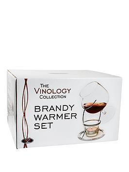 The Vinology Collection Collection Brandy Warmer &Amp Brandy Glass