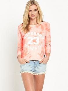 superdry-washed-crop-crew-sweat-top-bird-of-paradise-coral