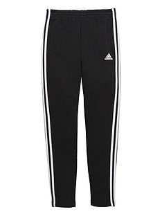 adidas-adidas-older-boys-3-stripe-slim-leg-fleece-pant