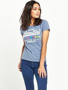 superdry-premium-goods-rainbow-t-shirt-foam-blue