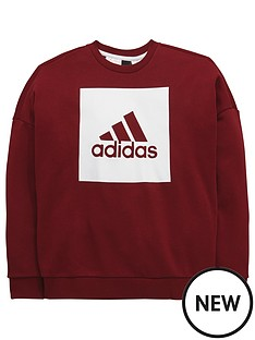 adidas-adidas-older-boys-crew-sweat