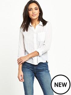 superdry-cotton-dobby-stripe-shirt-optic-white