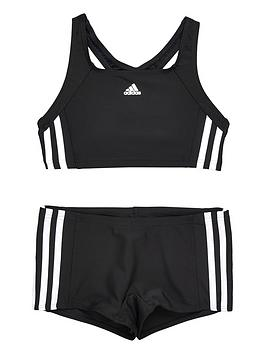 Adidas Older Girls 2 Piece Swimsuit