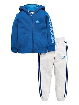 Adidas Adidas Younger Boys Hojo Fleece Tracksuit