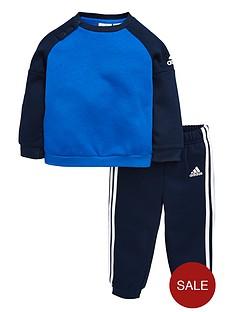 adidas-baby-boys-fleece-crew-set