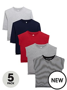 v-by-very-girls-long-and-short-sleeve-t-shirts-5-pack