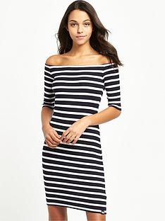 superdry-breton-stripe-dress