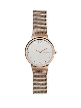 skagen-skagen-freja-rose-tone-case-rose-tone-mesh-bracelet-ladies-watch