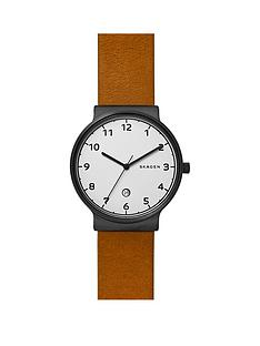 skagen-skagen-ancher-white-dial-tan-leather-strap-mens-watch