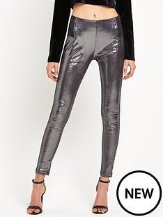 glamorous-disco-pant-black-metallic