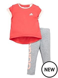 adidas-baby-girls-tee-and-tight-set