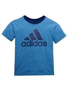 adidas-younger-boys-logo-tee