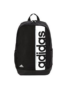 adidas-boys-linear-logo-backpack