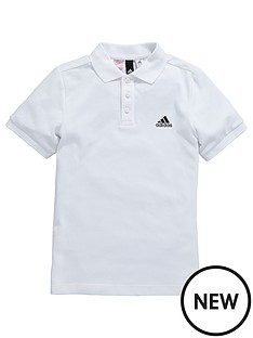 adidas-older-boys-polo-shirt