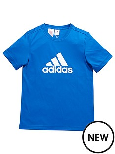 adidas-older-boys-training-logo-tee