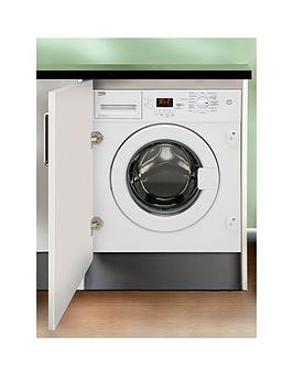 Beko Wmi81341 BuiltIn 8Kg Load 1300 Spin Washing Machine  Washing Machine With Connection