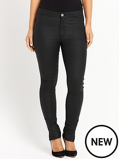 myleene-klass-high-waisted-coated-jeans-black