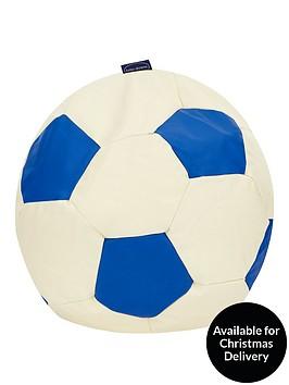 faux-leather-football-beanbag-ndash-blue