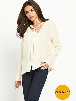 vila-scarf-detail-blouse