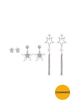 v-by-very-3-pk-star-detail-earrings