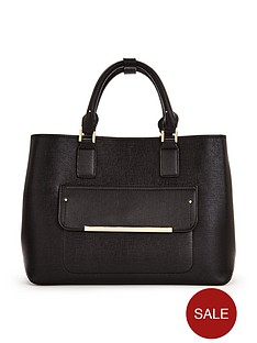 v-by-very-pocket-front-contrast-lined-tote