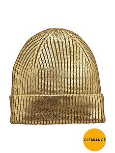 v-by-very-metallic-beanie-hat