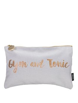Nails Inc Gym And Tonic Cosmetic Bag