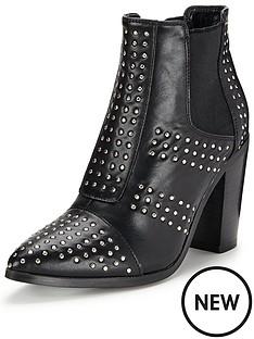 glamorous-glamorous-studded-ankle-boot