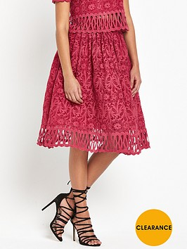 chi-chi-london-cutwork-skater-skirt