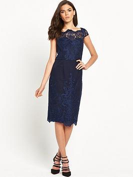 chi-chi-london-fitted-bardot-lace-dress