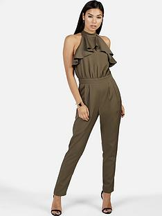 girls-on-film-khaki-jumpsuit