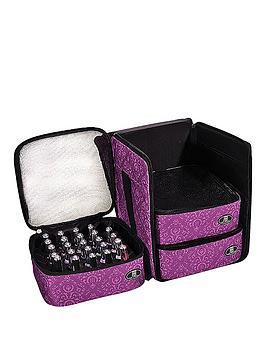 roo-beauty-nail-polish-triple-storage-cube-purple