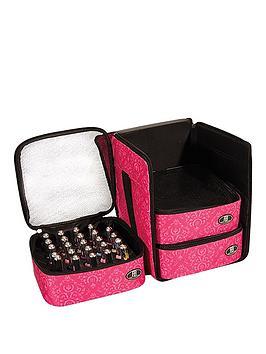 roo-beauty-roo-beauty-nail-polish-triple-storage-cube-pink