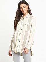 Long Sleeved Striped shirt