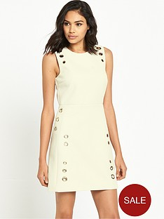 river-island-tailored-eyelet-detail-mini-dress