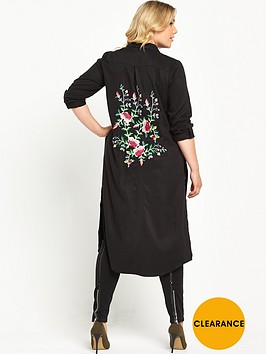 v-by-very-curve-longline-embroidered-back-shirt