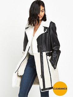 river-island-faux-shearling-coat